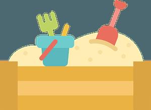 Sandbox clipart