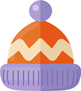 Winter cap clipart