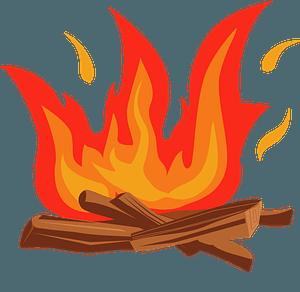 Bonfireのクリップアート