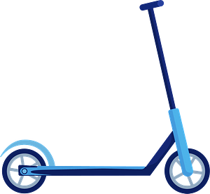 Patinete clipart