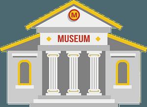 Museumのクリップアート