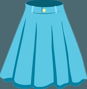 Skirtのクリップアート