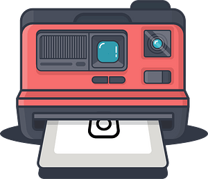 Polariod clipart