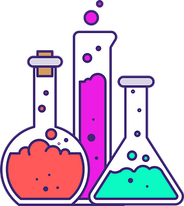Experiment lab clipart