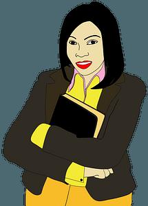 Female-Student-Portrait clipart