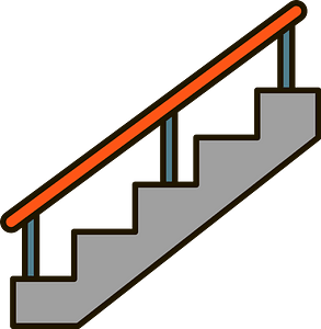 Staircases clipart