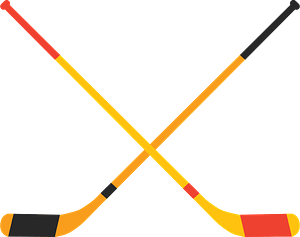 Ice Hockey stick clipart