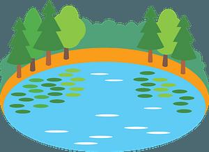 Lake clipart