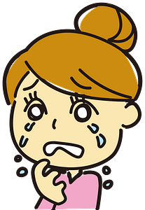 Crying woman clipart