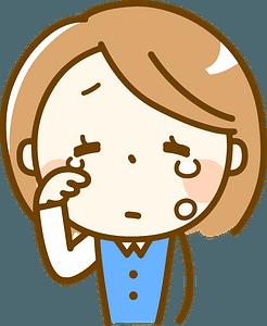 Girl in tears clipart