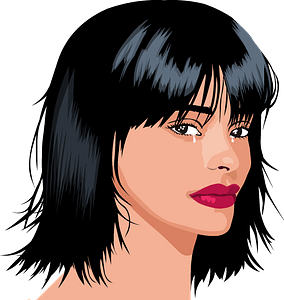 Woman crying clipart