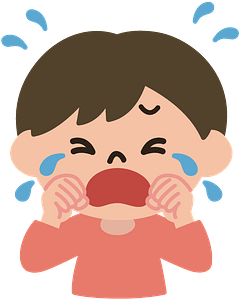 Crying Boy clipart