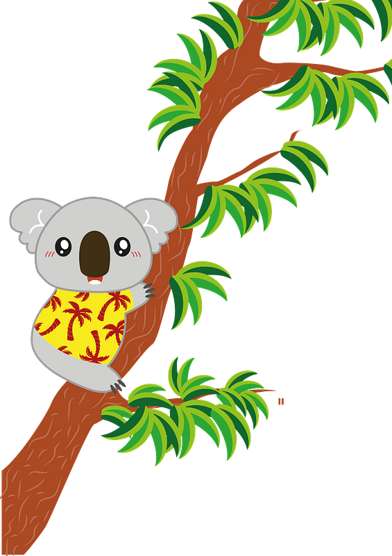 Koala Hugging Tree Clipart Free Download Transparent Png Creazilla The trees are , on average , about five degrees cooler than the surrounding air. koala hugging tree clipart free