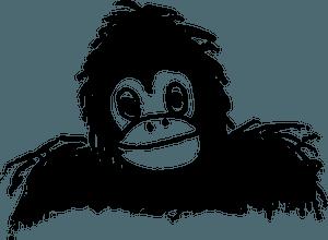 Gorilla clipart