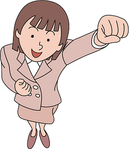 Female power clipart