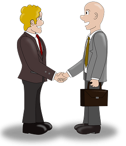 Business deal clipart