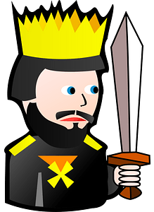 King of Spades clipart