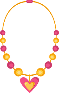 Necklace klipart