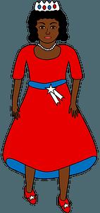 American queen clipart