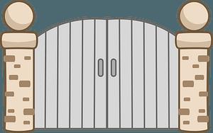 Gates clipart