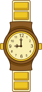 Wristwatch clipart
