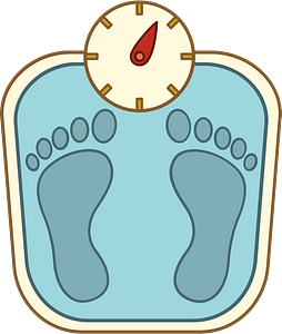 Weighing scale clipart