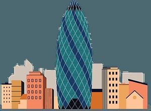 30 St Mary Axe (skyscraper) clipart