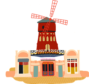Moulin Rouge clipart