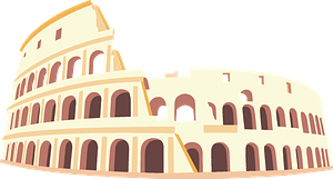 The Colosseum clipart