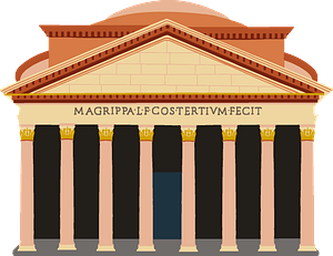 The Pantheon clipart