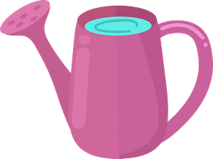 Watering can immagine clipart