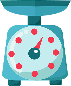Weighing scale immagine clipart