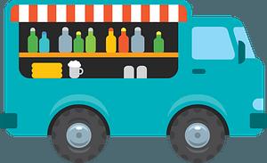 Food truck clipart