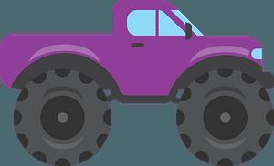 Monster truck clipart