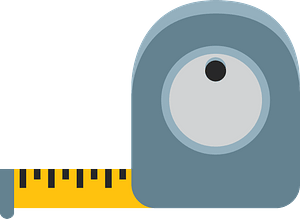 Measuring tape clipart