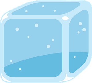 Ice cube clipart