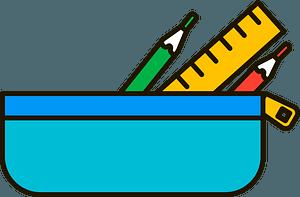 Pencil case clipart