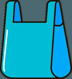 Plastic bag clipart