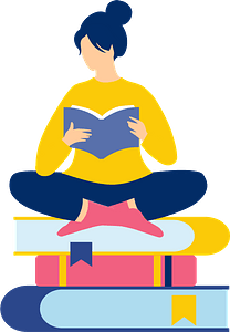 Book worm clipart