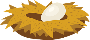 Nest clipart