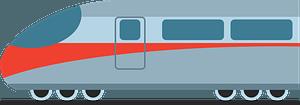 Bullet train clipart