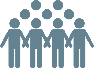 Crowd clipart