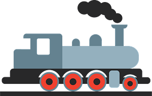 Steam locomotive clipart