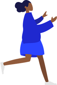 Standing clipart