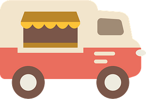 Food truck clipart