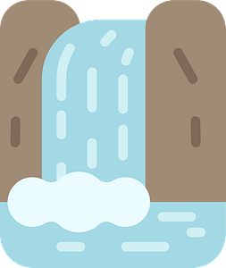 Waterfall кліпарт