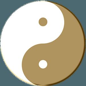 Yin-Yang pudding clipart