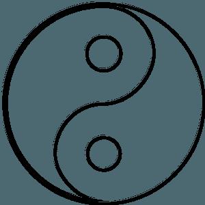 Yin-Yang - Blank clipart