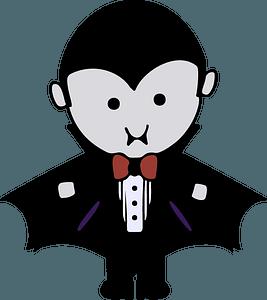 Chibi Dracula clipart