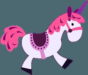 Toy unicorn clipart